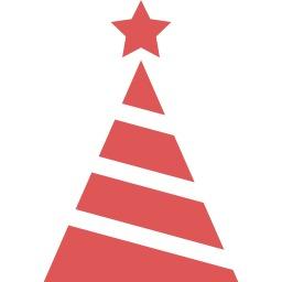 クリスマスツリーアイコン こだち